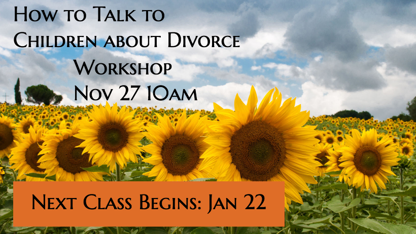How to Talk to Children about Divorce (Workshop)