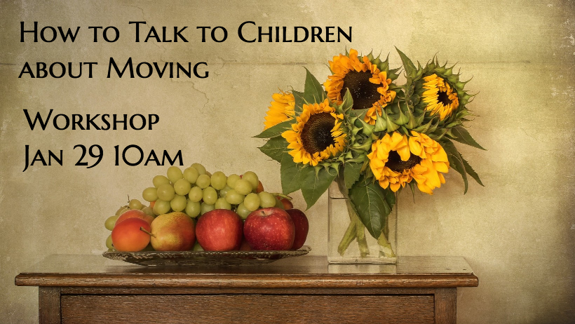 How to Talk to Children about Moving (Workshop)