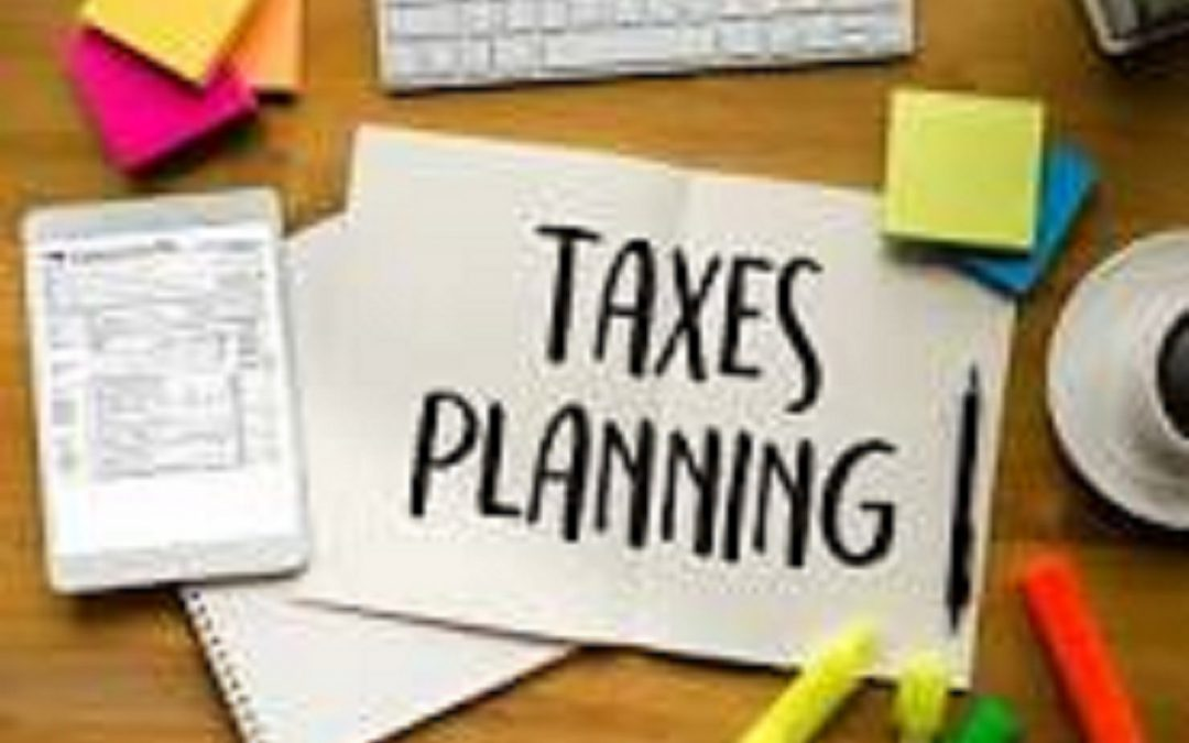 Three D's of tax planning